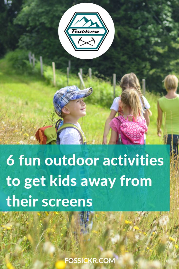 6 Outdoor Activities for Kids - Pin it to Pinterest