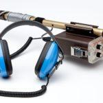 Tesoro Sand Shark Metal Detector and control box