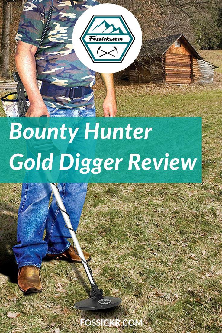 Jew Detector: Bounty Hunter Gold Digger Metal Detector Review